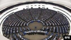 Sesión parlamentaria en el Parlamento Europeo en Estrasburgo, Francia. Archivo.