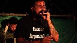 """Rapero cubano Omar Mena, """"El Analista"""". (Facebook)"""