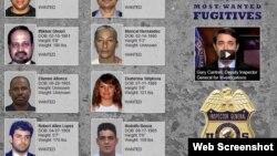 En la lista de los 10 más buscados por fraude al Medicare suelen figurar cubanos. En la más reciente aparecen Maricel Hernández y Rodolfo Bouza.