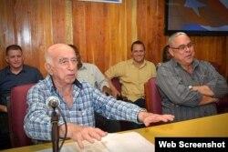 José Ramón Machado Ventura, preside´ Pleno del PCC en Holguín
