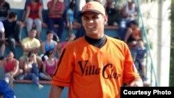 El lanzador cubano Yasmani Hernández Romero.