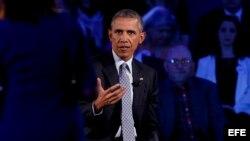 """Barack Obama dice que la violencia armada en EEUU es una """"crisis nacional"""". EFE"""