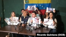 Exiliados venezolanos piden a Alta comisionada de ONU para los Derechos Humanos que visite Venezuela.