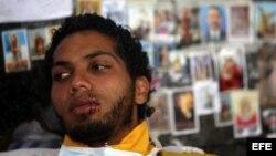 Universitarios venezolanos en huelga de hambre