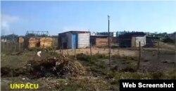 Reparto Nuevo Sosa, un asentamiento indigente a las afueras de la ciudad de Las Tunas.