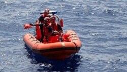 Declaraciones del Servicio de Guardacostas sobre balseros cubanos en Bahamas