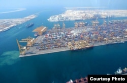 Nueva terminal de contenedores del Puerto del Mariel.