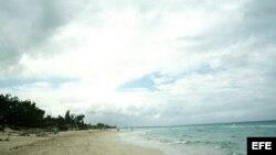 Vista de Playa Larga, en la cubana Bahía de Cochinos