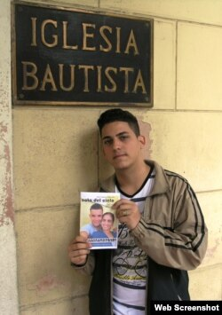 Félix Llerena López, coordinador del Instituto Patmos en el occidente de Cuba.