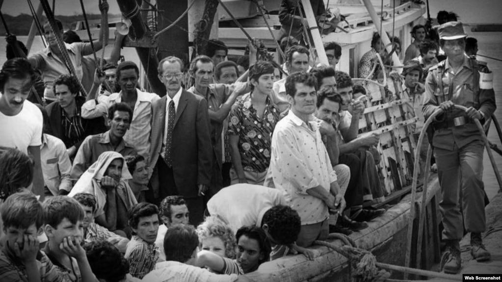 Cubanos que emigraron a EEUU durante el éxodo del Mariel.