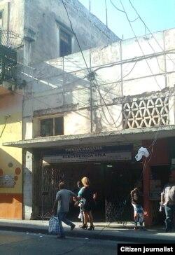 Reporta Cuba. Cables caídos. Foto: Yuliet Michelena.