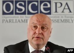 George Tsereteli, coordinador de la Organización para la Seguridad y la Cooperación en Europa (OSCE).