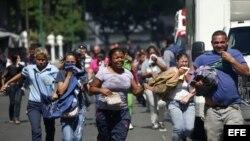 Familiares de los amotinados en Caracas