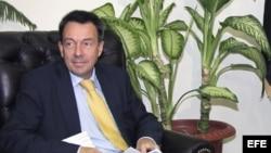 Peter Maurer, presidente del Comité Internacional de la Cruz Roja. Archivo.