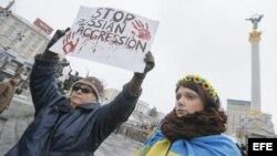 Duelo nacional en Ucrania por ataques a Mariupol