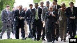 Fotografía de archivo de congresistas estadounidenses.
