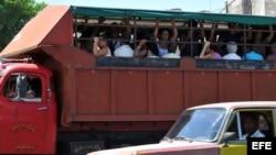 El transporte cubano