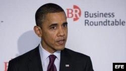 Fotografía de archivo del presidente estadounidense, Barack Obama