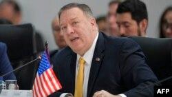 El secretario de Estado, Mike Pompeo, resaltó la generosidad de EEUU en la batalla contra el coronavirus.