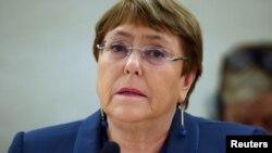 La Alta Comisionada de la ONU para los Derechos Humanos, Michellet Bachelet.