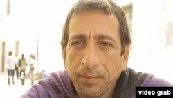 El músico cubano Rogelio Betancourt Suárez, varado en Marruecos desde julio de 2013.