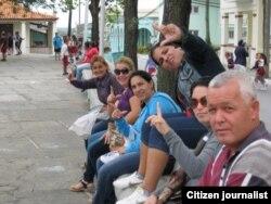 Reporta Cuba. Pinar del Río, marcha en las calles. Foto: Yelky Puig.