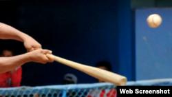 Béisbol en Cuba.