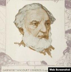 Gaspar Betancourt Cisneros, El Lugareño. (Foto: Facebook)