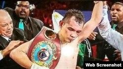 Nonito Donaire, campeón supergallo de la Organización Mundial de Boxeo (OMB).