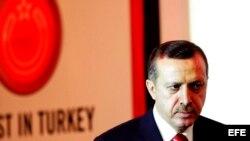 El primer ministro turco Recep Tayyip Erdogan.