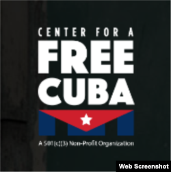 Logo del Centro por una Cuba Libre.