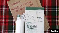 La odisea de los cubanos para adquirir medicamentos en las farmacias. (Foto: @RaulyAyala)
