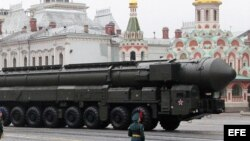 Misil nuclear ruso.