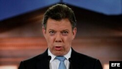 Archivo: El presidente de Colombia, Juan Manuel Santos