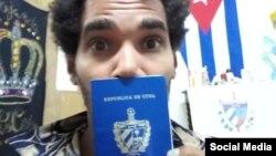 Imagen tomada de la cuenta de Facebook del artista independiente cubano Luis Manuel Otero Alcántara.