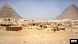 Piramides de Egipto. Archivo.