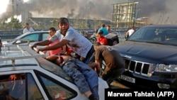 Víctimas de la explosión del 4 de agosto de 2020 en el puerto de Beirut