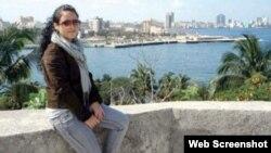 La periodista Mairelys Cuevas de 27 años salió de la isla el 12 de septiembre pasado rumbo a México con la intención de no regresar a Cuba (Foto: Facebook)