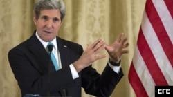 El secretario de estado de los Estados Unidos, John Kerry.