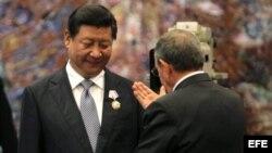 La visita del presidente chino a Cuba