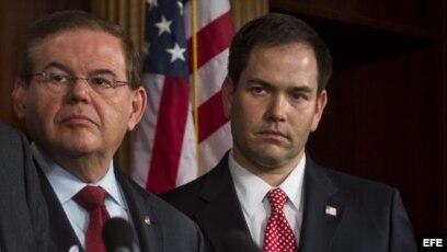 Senadores Menéndez y Rubio: crece la respuesta de EE.UU. a la tragedia en Venezuela