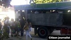 Reporta Cuba. Transporte. Foto: José Augusto.