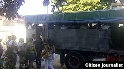 Reporta Cuba transporte Santiago de Cuba Foto José Augusto