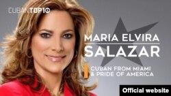 La congresista cubanoamericana María Elvira Salazar, republicana por Florida.