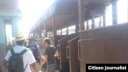 Reporta Cuba. Tren de Trinidad a Manaca Iznaga. Foto: Maidín Carretero.