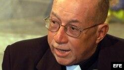 Monseñor Carlos Manuel de Céspedes, en una foto de 2006.