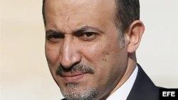 El líder de la Coalición Nacional Siria (CNFROS), Ahmad Yarba.