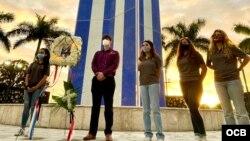 En Miami, el exilio cubano rinde homenaje a los pilotos de los aviones derribados de Hermanos al Rescate.