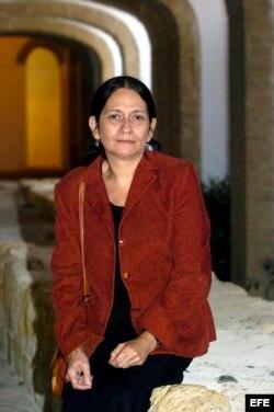 La poeta y narradora cubana Reina María Rodríguez.