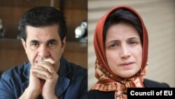 Jafar PANAHI y Nasrin SATOUDEH - Premio Sajarov 2012
